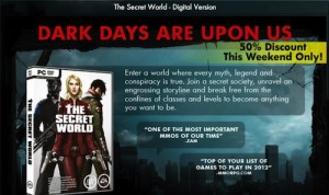 The Secret World discount