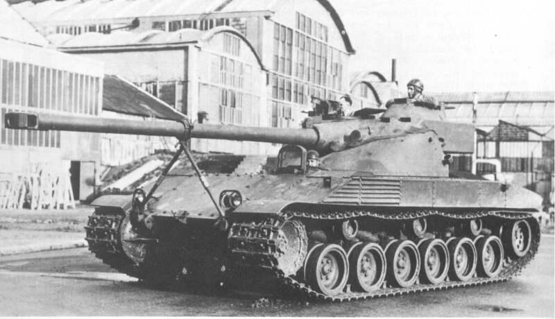 """""""БаТ ЧаТиЛьОн"""" Обзор танка Bat Chatillon 25 t"""