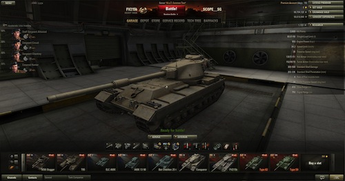 World of Tanks FV215b
