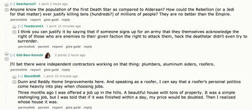 Star Wars Humour