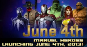 Marvel Heroes Launch Date